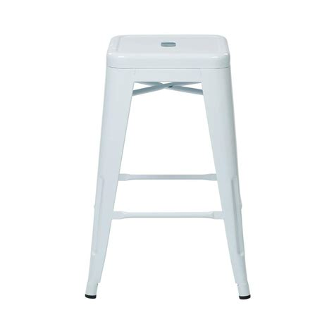 24 Bar Stools Set Of 4 by Ospdesigns 24 In White Bar Stool Set Of 4 Ptr3024a4 11