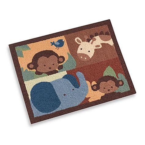jungle rug for nursery kidsline jungle 1 2 3 decorative nursery rug buybuy baby
