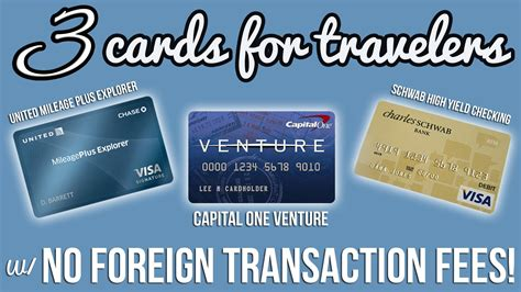 Free Search No Fees Three Cards With No Foreign Transaction Fees