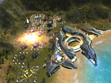 supreme commander 3 supreme commander forged alliance d p xd image
