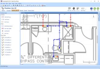 home design software electrical and plumbing plumbingcad plumbing design software