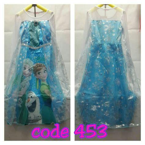 Sale Frozen Atasan Anak Elsa jual kostum elsa frozen anak ulang tahun import 453 print clariss shop