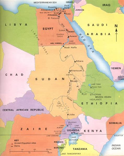 world map river nile geography nile