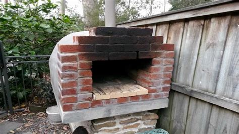Handmade Oven - brick clay castable pizza oven
