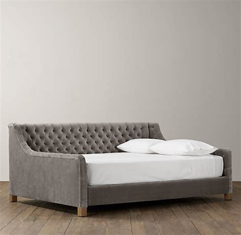 Restoration Hardware Daybed Sofa by Furniture Beds On Canopy Beds Headboards And Upholstered Headboards