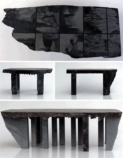 lava stone table top flintstones furniture 15 designs made of stone and lava