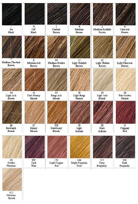 hair color chart 2 qlassyhairextensions hair color numbers 28 images yaki hair color chart