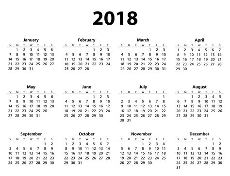 time calendar template 2018 2018 calendar template free stock photo domain