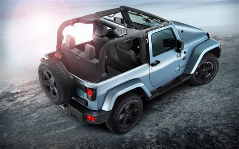 2012 Jeep Wrangler Top 2012 Jeep Wrangler Arctic Edition Rear View With Top