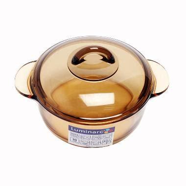 Panci Vitro jual luminarc vitro blooming casserole 1 liter