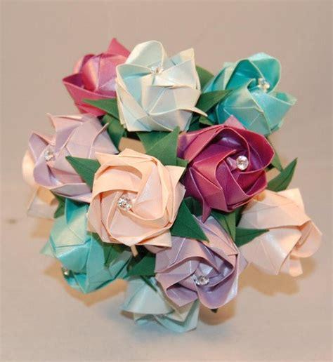 Origami Flowers Wedding - alternative wedding roses valentines origami roses paper