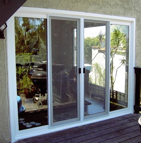 Glass Door With Screen Doors Astonishing Sliding Screen Patio Door Sliding Screen Patio Door Best Sliding Screen Door