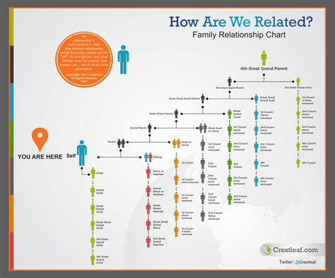 office relationship chart colorful family relationship chart helps answer the