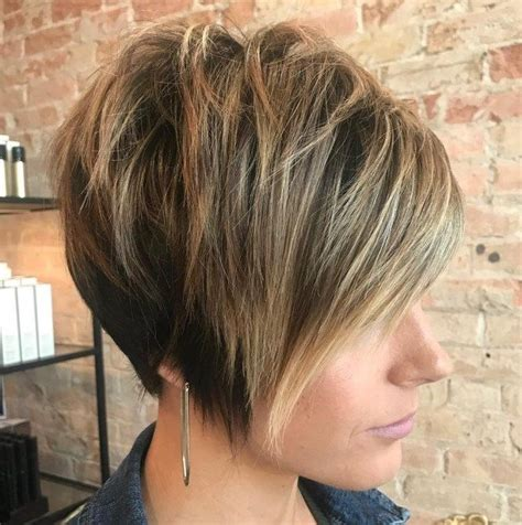 short layers crown long lat 70 cute and easy to style short layered hairstyles
