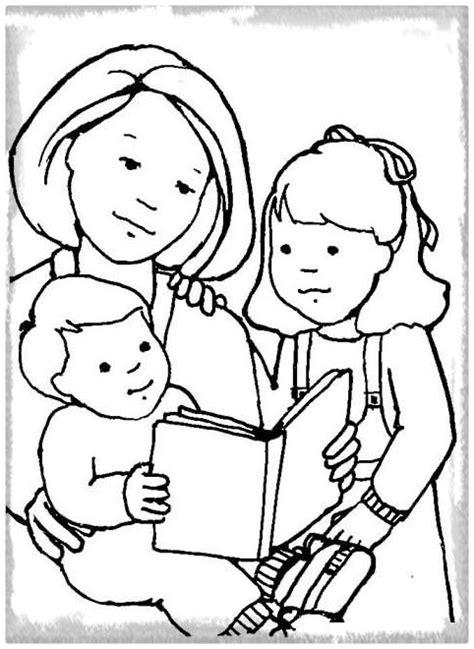 dibujos de la biblia para colorear o imprimir encontrar imagenes de familias leyendo imagenes de familia