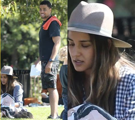 michael ealy family photos handsome michael ealy pictured with his family at the park