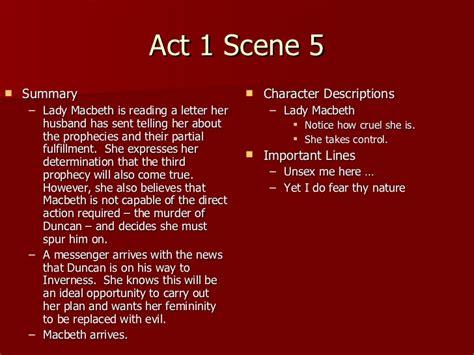 Act 5 1 Macbeth Essay by Essay On Macbeth Act 1 1