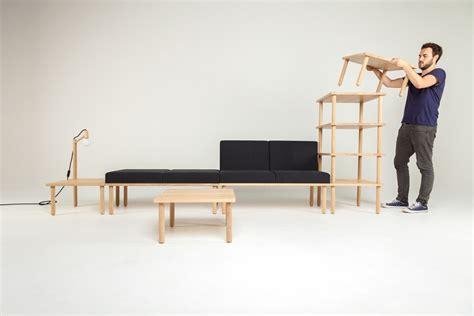 modular furniture design modular minimalism 5 part kit to create infinite