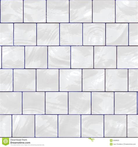 7 X 10 Bathroom Floor Plans White Glossy Tile Stock Illustration Illustration Of
