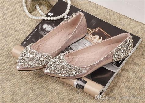 flat wedding shoes with bling 25 best ideas about rhinestone wedding on