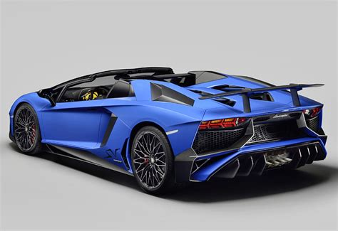 lamborghini aventador sv roadster cost 2016 lamborghini aventador lp750 4 sv roadster specifications photo price information rating