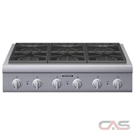thermador cooktop reviews pcg366g thermador professional series cooktop canada