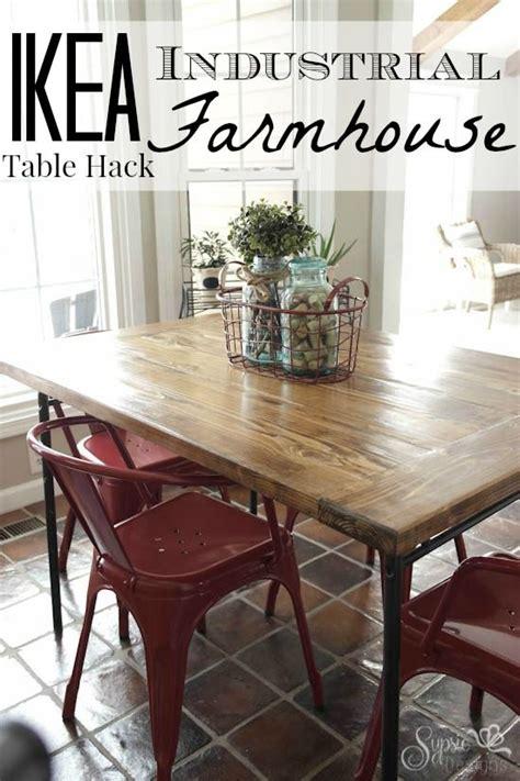 Farmhouse Dining Table Ikea Hack 25 B 228 Sta Ikea Dining Table Hack Id 233 Erna P 229