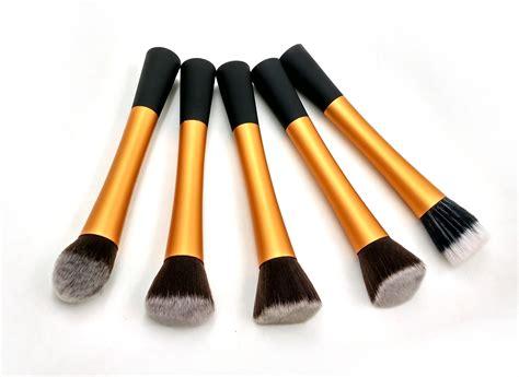 Kabuki Brush Set Kuas Make Up Foundation Wajah 10 Pcs 10pcs Brushes promotion makeup brushes set tools metal handle professional make up brush kabuki brush