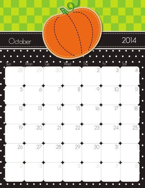 Free Printable October 2013 Calendar Template