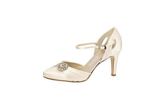 Schuhe Satin Ivory by Ivory Brautschuh Quot Mariella Quot Satin Ivory Auslaufmodell