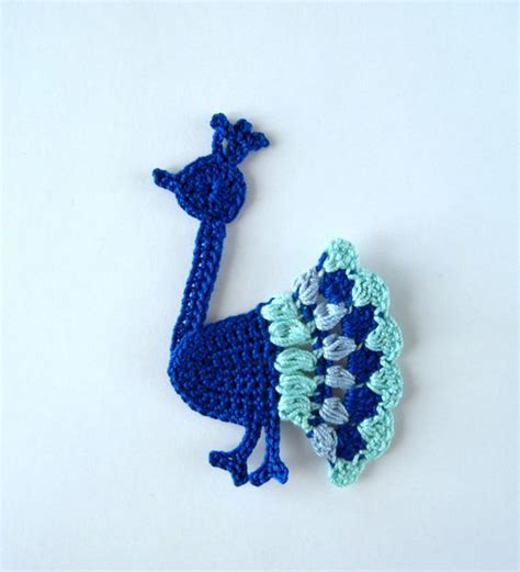 peacock applique peacock applique crochet patterns sandals and crochet
