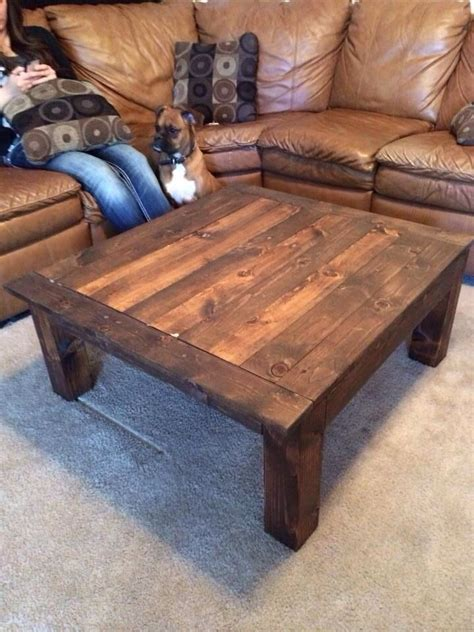 homemade coffee table homemade coffee table wood work pinterest