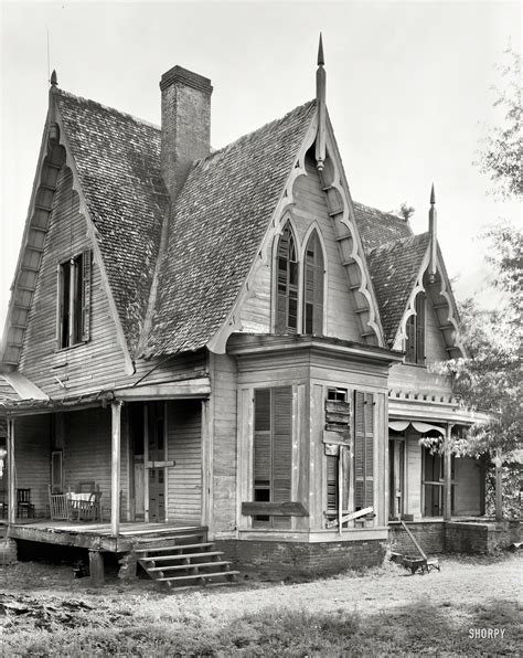 gothic revival house shorpy historical photo archive 1939 quot knight house