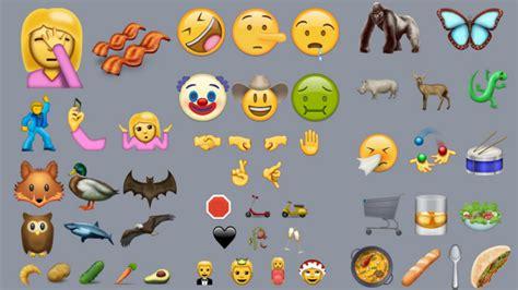 emoji vivo v5 there are 72 new emojis including avocado facepalm
