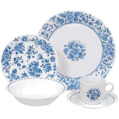 blue pattern dinnerware sets corelle vintage blue design this set is so pretty me