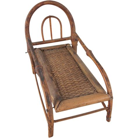 bamboo chaise lounge made in japan 1 quot bamboo chaise lounge dollhouse furniture