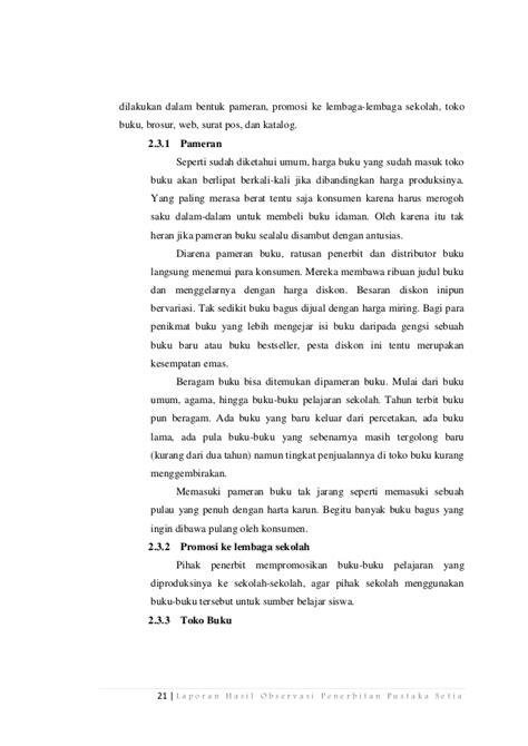 format laporan hasil observasi laporan hasil observasi wisata contoh moo