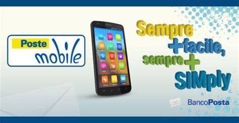 servizio clienti poste mobili postemobile presenta simply per clienti bancoposta e postepay