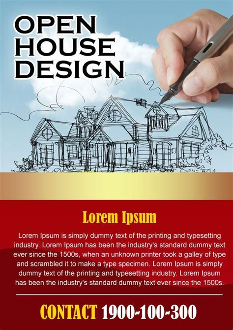 mortgage open house flyers 17 best images about open house flyer ideas on pinterest flyer template words and
