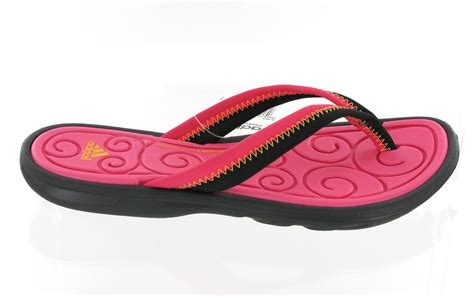 New Womens Adidas Sleekwana Comfort Flip Flop Beach