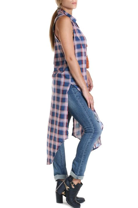 Maxi Lusiana bishop plaid maxi top from louisiana by ruby