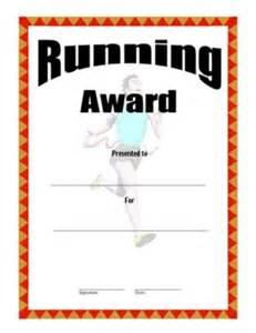 certificate of achievement in running three success