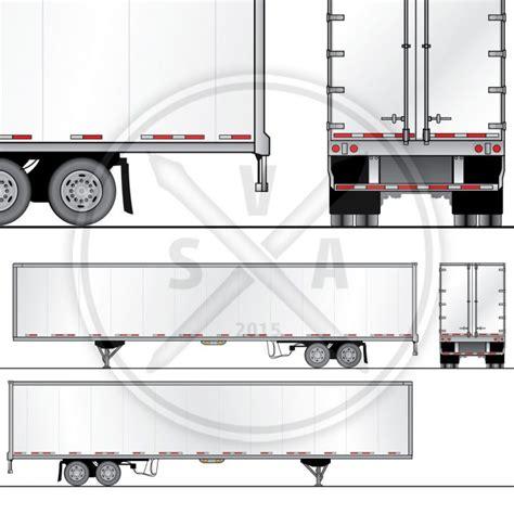 trailer templates stockvectorart author at stock vector
