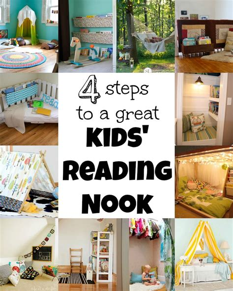 How To Make A Reading Nook In A Closet by Kid Reading Nooks On Reading Nook