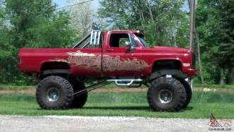 1985 chevy 4x4 lifted truck show truck