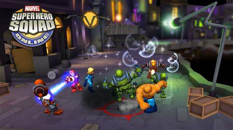 heroplay play online hero games marvel super hero squad online free mmo game