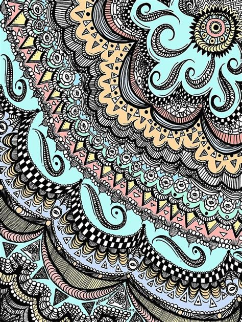 doodle wallpaper pinterest multicolored scribble doodle zentangle pinterest