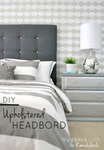 Diy Padded Headboard Remodelaholic Diy Tufted Upholstered Headboard Tutorial