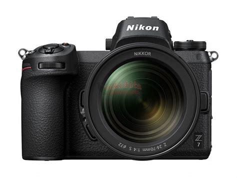 breaking the leaked press photo of the nikon z6 and z7 mirrorless cameras nikon rumors