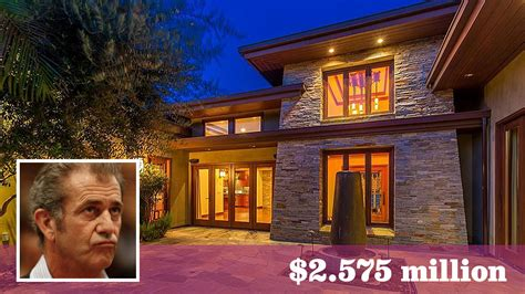 mel gibson lists the sherman oaks home he bought for